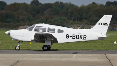 G-BOKB - Piper PA-28-161 Warrior II - Flying Time