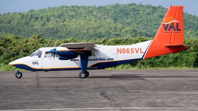 A picture of N865VL - BrittenNorman BN2B27 - Vieques Air Link - © Jose L Roldan