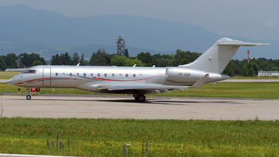 VP-CBA - Bombardier BD-700-1A10 Global 6000 - Private