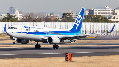 A picture of JA62AN - Boeing 737881 - All Nippon Airways - © LUSU