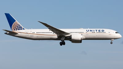 A picture of N24972 - Boeing 7879 Dreamliner - United Airlines - © Sierra Aviation Photography