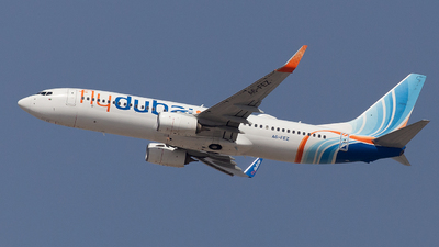A picture of A6FEZ - Boeing 7378KN - FlyDubai - © Oleksiy Naumov