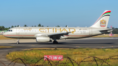 A6-EIR - Airbus A320-232 - Etihad Airways