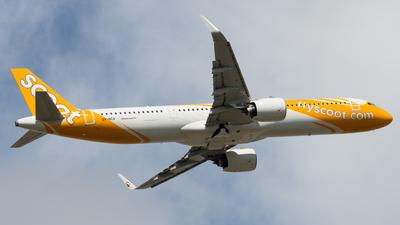 9V-NCA - Airbus A321-271NX - Scoot