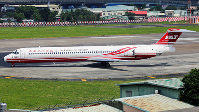 B-28011 - McDonnell Douglas MD-82 - Far Eastern Air Transport (FAT)