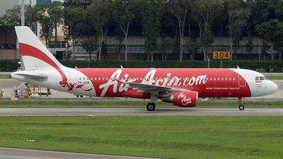 PK-AXM - Airbus A320-216 - Indonesia AirAsia