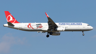 A picture of TCJTE - Airbus A321231 - Turkish Airlines - © Moritz Babl