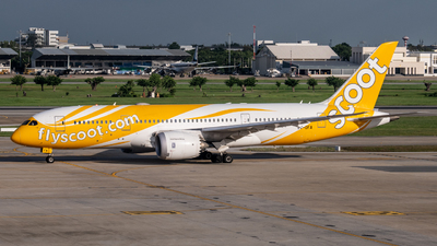 A picture of 9VOFA - Boeing 7878 Dreamliner - Scoot - © Taweesak
