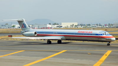 N485AA - McDonnell Douglas MD-82 - American Airlines