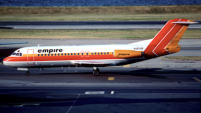 N107UR - Fokker F28-4000 Fellowship - Empire Airlines