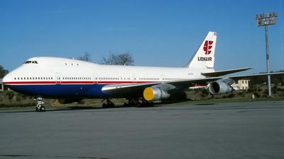 LX-GCV - Boeing 747-121 - Lionair Inc
