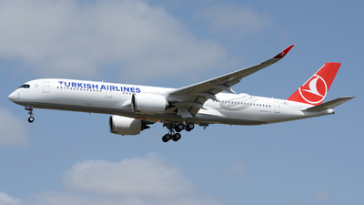 F-WZGZ - Airbus A350-941 - Turkish Airlines