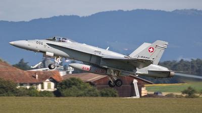 J-5006 - McDonnell Douglas F/A-18C Hornet - Switzerland - Air Force
