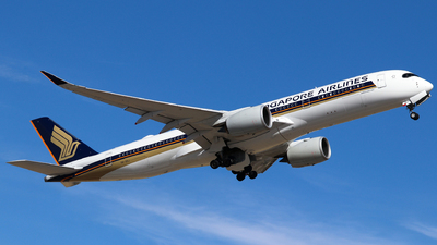 A picture of 9VSHJ - Airbus A350941 - Singapore Airlines - © Robbie Mathieson