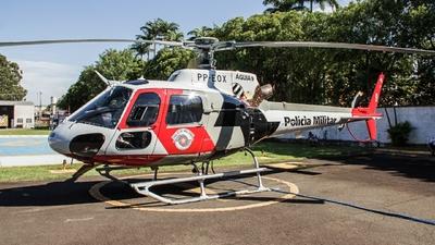 PP-EOX - Helibrás AS-350B2 Esquilo - Brazil - Military Police of São Paulo State