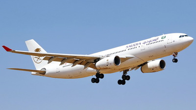 TC-OCJ - Airbus A330-243 - Saudi Arabian Airlines (Onur Air)