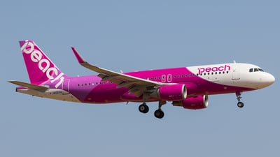 JA06VA - Airbus A320-214 - Peach Aviation