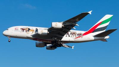 A6-EEI - Airbus A380-861 - Emirates