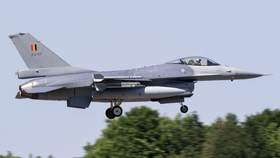 FA-117 - General Dynamics F-16AM Fighting Falcon - Belgium - Air Force