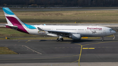 A picture of DAXGF - Airbus A330203 - Eurowings Discover - © Maxi Drefahl
