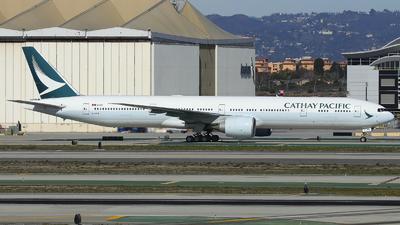 B-KPN - Boeing 777-367ER - Cathay Pacific Airways