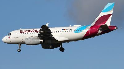 A picture of DAGWU - Airbus A319132 - Eurowings - © Nigel Fenwick