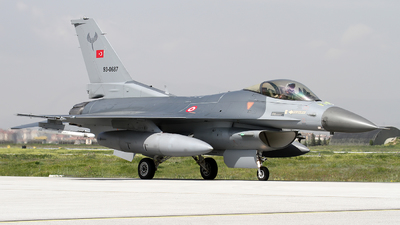 93-0687 - Lockheed Martin F-16C Fighting Falcon - Turkey - Air Force