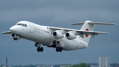 EC-JVJ - British Aerospace BAe 146-300 - Orionair