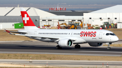 HB-JCE - Bombardier CSeries CS300 - Swiss