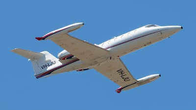 VH-LJU - Gates Learjet 35A - Air Affairs Australia