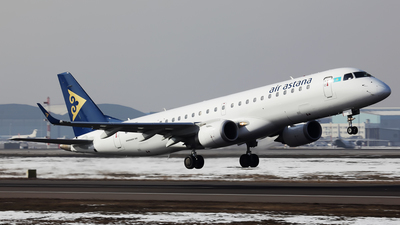 P4-KCI - Embraer 190-100LR - Air Astana