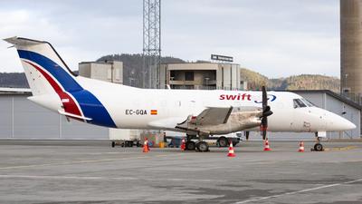 A picture of ECGQA - Embraer EMB120FC Brasilia - Swiftair - © Sebastian E Burmo