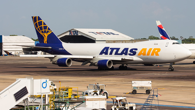 A picture of N498MC - Boeing 74747U(F) - Atlas Air - © Dotto