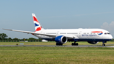 A picture of GZBKH - Boeing 7879 Dreamliner - British Airways - © Conor Ewings