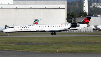 A picture of CGOJZ - Mitsubishi CRJ900LR - Air Canada - © Daniel Lapierre Forget