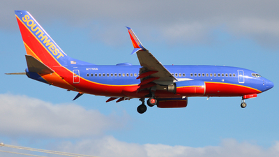 A picture of N7750A - Boeing 7377BD - Southwest Airlines - © AtxMatt Spotting