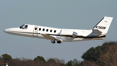 N760M - Cessna 550 Citation II - Private