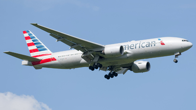 A picture of N799AN - Boeing 777223(ER) - American Airlines - © Esteban Cristancho