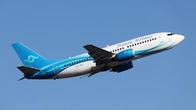 A picture of VHYNU - Boeing 737319 - Nauru Airlines - © Morris Biondi