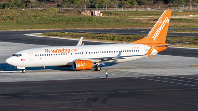 A picture of CFYJD - Boeing 7378Q8 - Sunwing Airlines - © Lima__fox