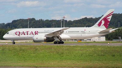 A7-BCY - Boeing 787-8 Dreamliner - Qatar Airways