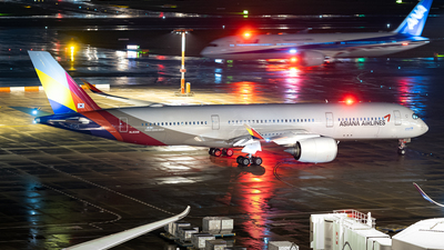 A picture of HL8308 - Airbus A350941 - Asiana Airlines - © Yiwen Song