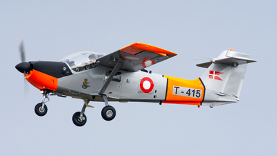 T-415 - Saab T-17 Supporter - Denmark - Air Force