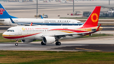 B-30CQ - Airbus A320-214 - Chengdu Airlines