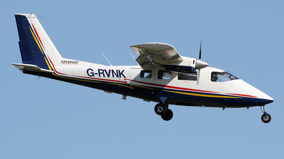 A picture of GRVNK - Partenavia P68B Victor - Ravenair - © Ian Howat