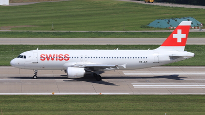 A picture of HBJLR - Airbus A320214 - Swiss - © Christoph Plank