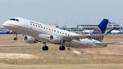 A picture of N604UX - Embraer E175LL - United Airlines - © HA-KLS