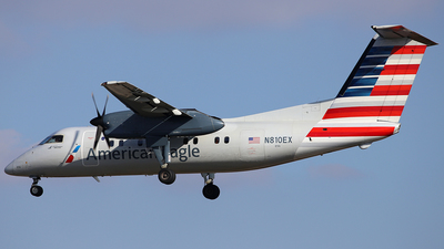 N810EX - Bombardier Dash 8-102A - American Eagle (Piedmont Airlines)