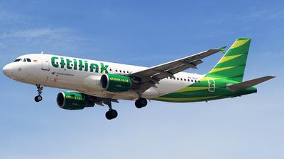PK-GLP - Airbus A320-214 - Citilink