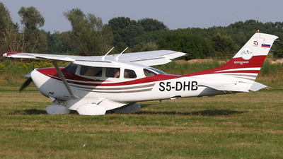 S5-DHB - Cessna T206H Turbo Stationair - Private